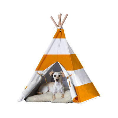 unique dog beds, rugged teepee bed