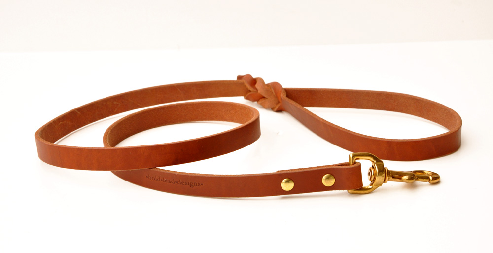 impressive dog leashes, traditional leather