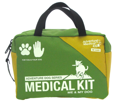 Dog camping gear first aid kit