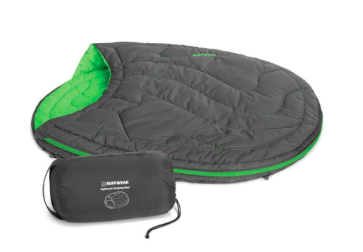 Dog camping gear sleeping bag