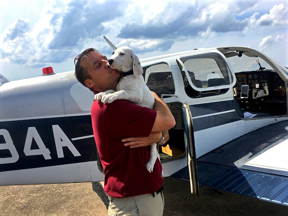 Meet the Army Veteran Saving Pups' Lives, One Plane Ride at a Time
