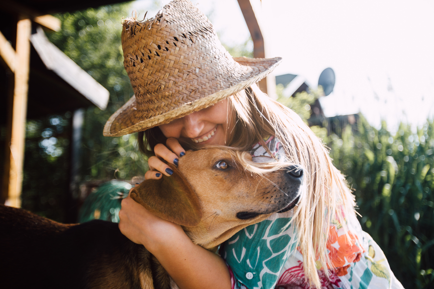Does Your Dog Really Like to be Hugged?