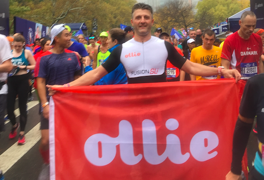 Ollie Supports Rescue Pups, One Meal (and Marathon) at a Time