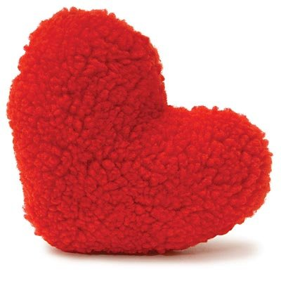 Squeaky Heart Toy