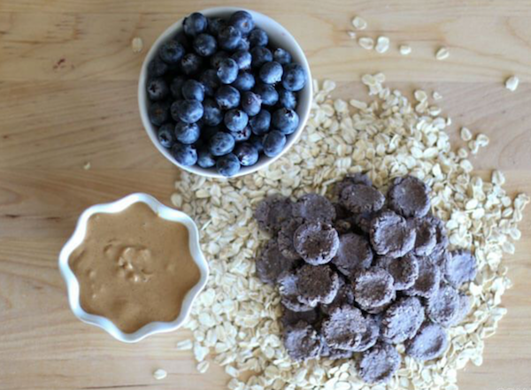 Blueberry Peanut Butter Bites